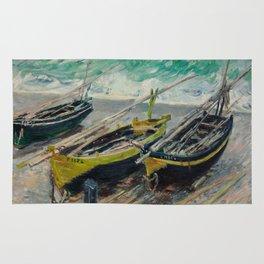 Three Fishing Boats Rug