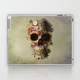Garden Skull Light Laptop & iPad Skin