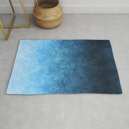 stained fantasy glow gradient Rug
