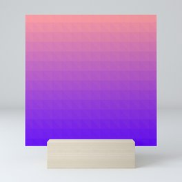 Pink and Purple Ombre - Flipped Mini Art Print