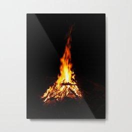 Vibrant BonFire Metal Print