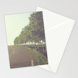 roadside trees Stationery Cards