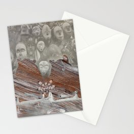 Sacred maidens Stationery Cards
