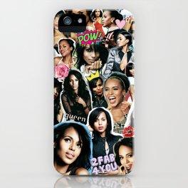 Kerry Washington iPhone Case