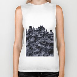 Pittsburgh Skyline Pennsylvania Biker Tank