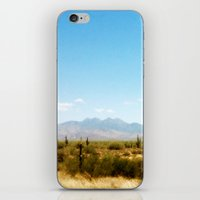 southwest iPhone & iPod Skins featuring Painterly Southwest by Mister Groom