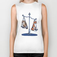 lawyer Biker Tanks featuring The Law by Elisa Gandolfo