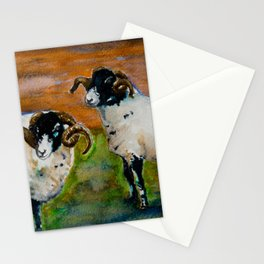 The Rams of Lastingham Stationery Cards
