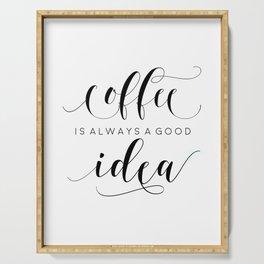 PRINTABLE Art,COFFEE SIGN,Coffee Print,Coffee Cup,Bedroom Decor,Kitchen Decor,Bar Decor Serving Tray