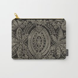 Vintage Lace Carry-All Pouch