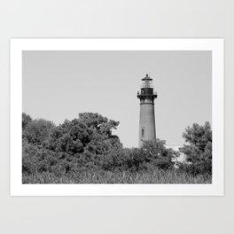 The Currituck Beach Lighthouse - USA Series Art Print