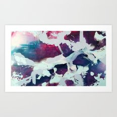Periwinkle Dreams Art Print