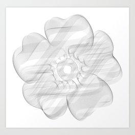 Infinite Bloon Art Print
