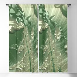 Green Cherries on the Cherry Tree Blackout Curtain