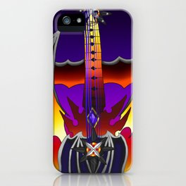 Fusion Keyblade Guitar #149 - Oblivion & Twilight Blaze iPhone Case