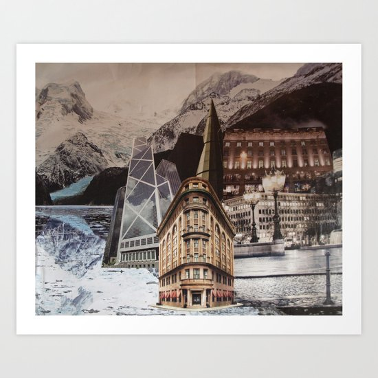 In the Middle of Somewhere Art Print
