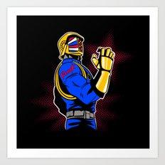 Cobra Punk  Art Print