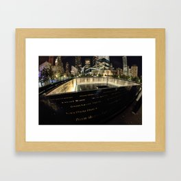 Ground Zero Framed Art Print