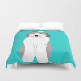 Lucy The Sheepadoodle Duvet Cover