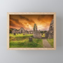 Abandoned Framed Mini Art Print