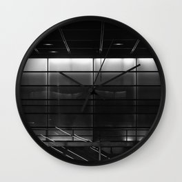 futural rum transit Wall Clock