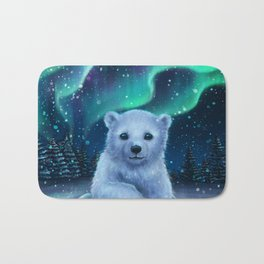 Polar Bear Bath Mat