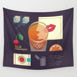 Old Fashioned  Wall Tapestry