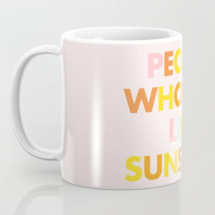Sunshine People Coffee Mug