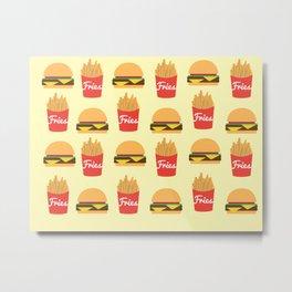 Burger Time  Metal Print