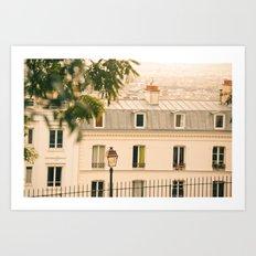 Parisian Breeze Art Print
