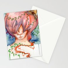 melting slowly Stationery Cards