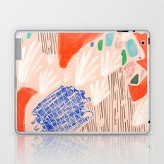 Seeing Spaces - Peach Laptop & iPad Skin