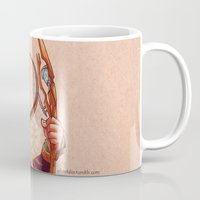 loki Mugs featuring Loki by silvertales