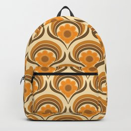 Orange  Daisy Dream Backpack