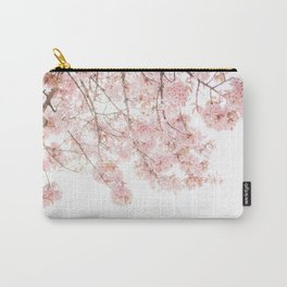 Pink Blooming Cherry Trees Carry-All Pouch