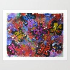 I Have Butterflies Art Print