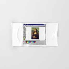 Monalisa Paint Hand & Bath Towel