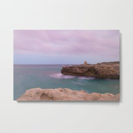 Salento and clouds Metal Print