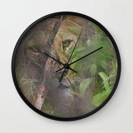 Shadows Wall Clock