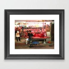 meat men Framed Art Print