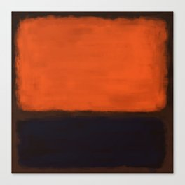 Rothko Inspired #18 Canvas Print