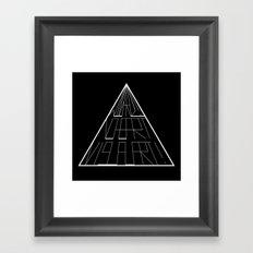 Wizard No Heart Logo Framed Art Print