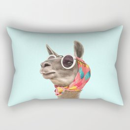 FASHION LAMA Rectangular Pillow