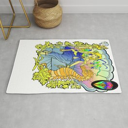 Tales o the Trident: Enchanted Seahorse Rug