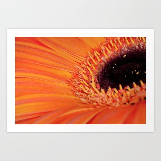 Its bloomin' orange Art Print