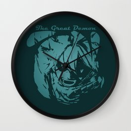 The Lord of Great Demon Wall Clock