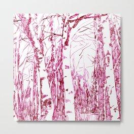 trees I Metal Print