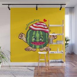 Watermelon B Wall Mural