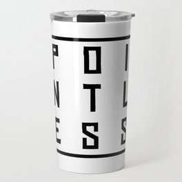 Funny Pointless T-Shirt Design Pointless Travel Mug