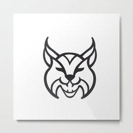 lynx Icon Metal Print